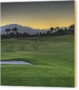Jack Nicklaus Golf Course Wood Print by Jay Hooker
