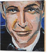 James Bond  Wood Print by Jon Baldwin  Art