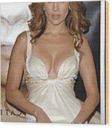Jennifer Lopez Wearing A Roberto Wood Print by Everett