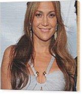 Jennifer Lopez Wearing An Emilio Pucci Wood Print by Everett