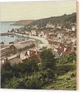 Jersey - Saint Aubins - Channel Islands - England Wood Print by International  Images