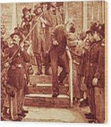 John Brown: Execution Wood Print by Granger