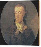 J.p. Brissot De Warville Wood Print by Granger