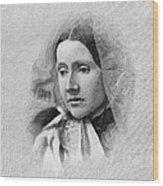 Julia Ward Howe (1819-1910) Wood Print by Granger