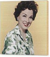 Kathryn Grayson, Ca 1950s Wood Print by Everett