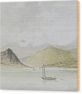 Lago Maggiore Wood Print by Charles Gore