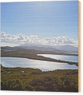 Laguna Grande  Wood Print by George Oze