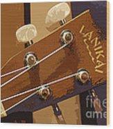 Lanikai Wood Print by David Bearden