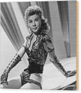 Lets Be Happy, Vera-ellen, 1957 Wood Print by Everett