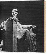 Lincoln Memorial Wood Print by Granger