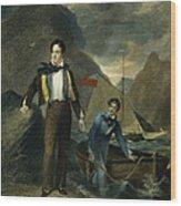 Lord Byron Wood Print by Granger