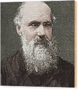 Lord Kelvin, Scottish Physicist Wood Print by Sheila Terry