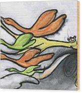 Lost Wood Print by Kendrew Black