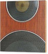 Loudspeaker Wood Print by Luigi Masella