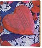 Love Wood Print by Joana Kruse