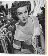 Love That Brute, Jean Peters, 1950 Wood Print by Everett