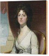 Marianne Ashley Walker Wood Print by Gilbert Stuart