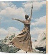 Mary Poppins Wood Print by Joana Kruse