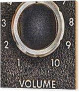 Master Volume Wood Print by Scott Norris