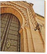 Mausoleum Of Mohammed V Wood Print by Kelly Cheng Travel Photography