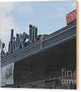 Mel's Drive-in Diner In San Francisco - 5d18042 Wood Print by Wingsdomain Art and Photography