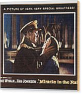 Miracle In The Rain, Van Johnson, Jane Wood Print by Everett