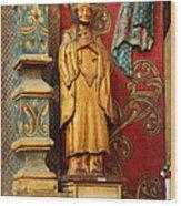 Mission San Xavier Del Bac - Interior Detail II Wood Print by Suzanne Gaff