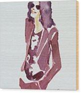 Mj 2009 Wood Print by Hitomi Osanai