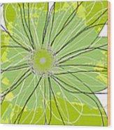 Moda Flower Mix I  Wood Print by Ricki Mountain