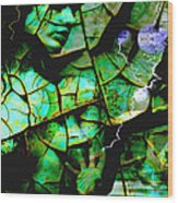 Mother Earth Wood Print by Yvon van der Wijk