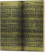 My Father Reigns Eternal And Memories Song Book - Nostalgia - Vintage  Wood Print by Lee Dos Santos