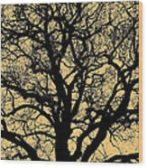 My Friend - The Tree ... Wood Print by Juergen Weiss