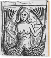 Mythology: Mermaid Wood Print by Granger