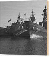 Naval Joint Ops V1 Wood Print by Douglas Barnard