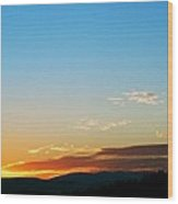 New Lazy Summer Day Wood Print by Kevin Bone