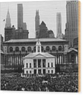 New Yorks Observance Of George Wood Print by Everett