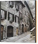 North Italy  Wood Print by Mauro Celotti