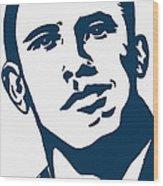 Obama Wood Print by Pramod Masurkar