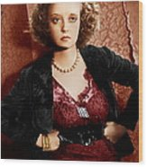 Of Human Bondage, Bette Davis, 1934 Wood Print by Everett