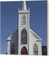 Old Bodega Church Wood Print by Garry Gay