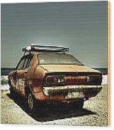 Old Car Wood Print by Joana Kruse