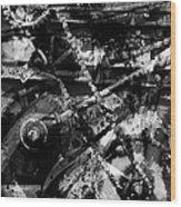 Old Mechanism  Wood Print by Igor Kislev
