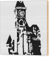Old Washington County Court House In Fayetteville Ar Wood Print by Amanda  Sanford