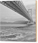 Onaruto Bridge Wood Print by Miguel Castaneda