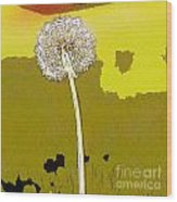One Day Your Wish Will Come True Wood Print by Artist and Photographer Laura Wrede