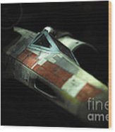 Original X-wing Wood Print by Micah May