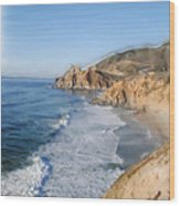 Pacifica Wood Print by Wayne Bonney