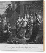 Parable Of Virgins Wood Print by Granger