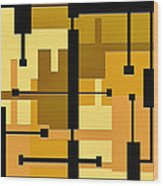 Passive Wood Print by Ely Arsha