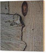 Patch Wood Print by Odd Jeppesen